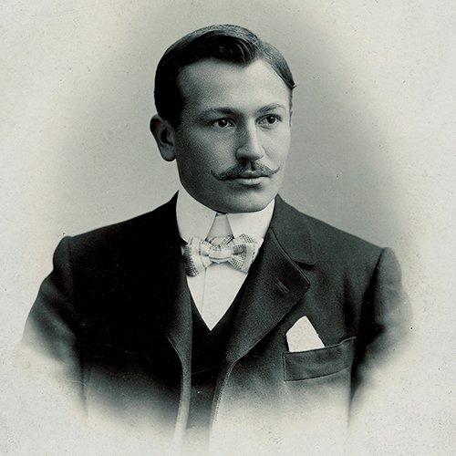 Hans Wilsdorf portrait - Lịch sử thương hiệu đồng hồ Rolex