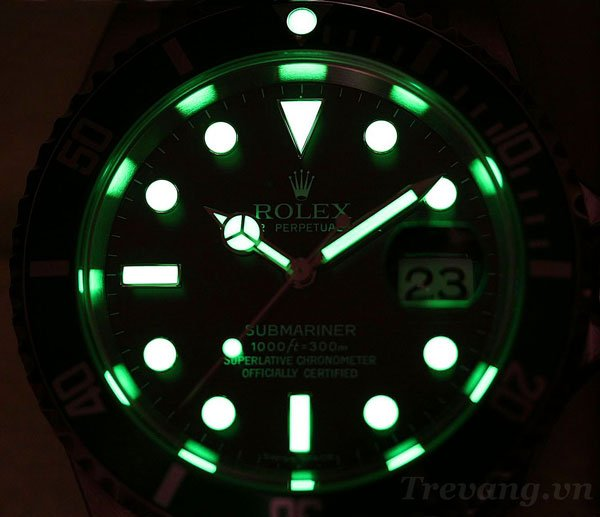 Dong ho deo tay nam Rolex R.1000 da quang - Có bao nhiêu loại dạ quang? Thời gian phát sáng của dạ quang bao nhiêu lâu?