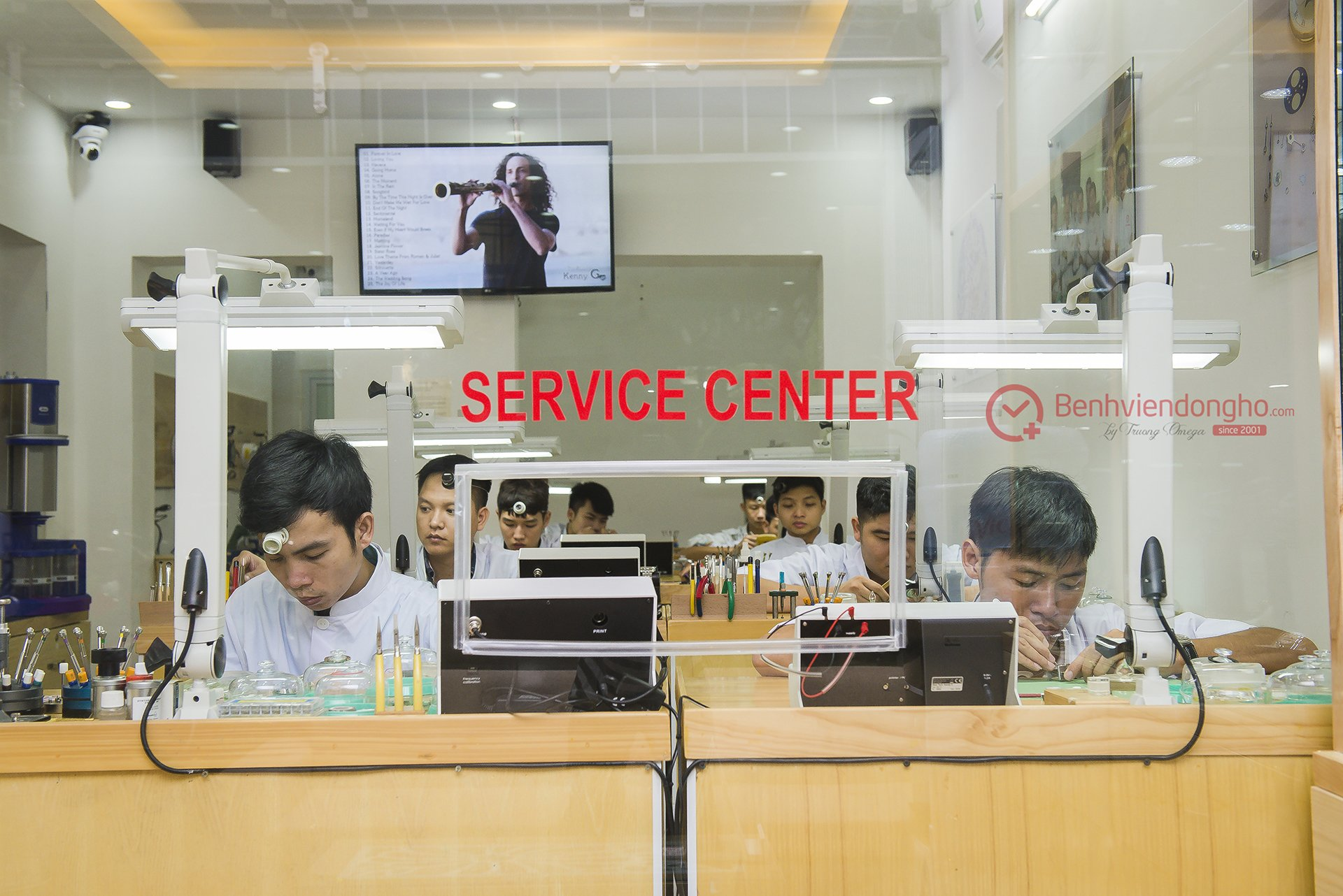 TVT9006 - Phòng kỹ thuật Bệnh Viện Đồng Hồ