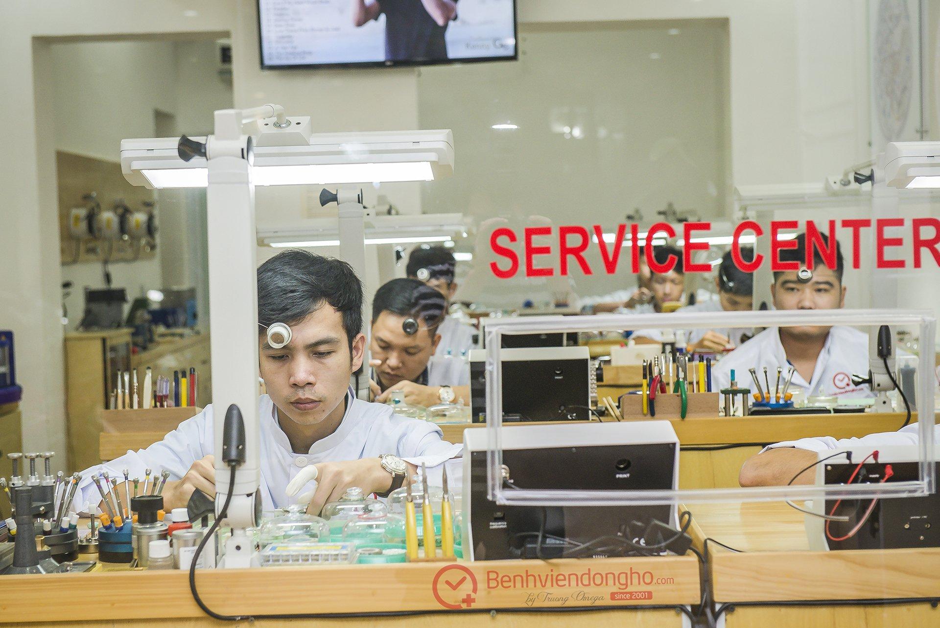 TVT9028 - Phòng kỹ thuật Bệnh Viện Đồng Hồ
