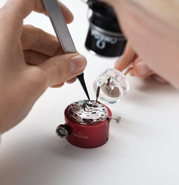 Omega test 11 - Sửa chữa, bảo dưỡng đồng hồ