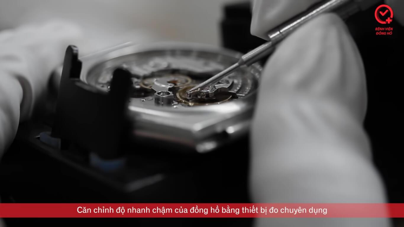 Căn chỉnh nhanh chậm đồng hồ - Căn Chỉnh Nhanh Chậm Đồng Hồ Cơ | Bệnh Viện Đồng Hồ