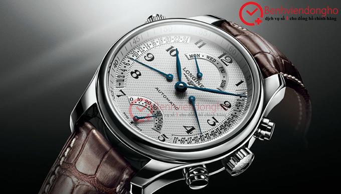 Đồng hồ Longines sử dụng kính sapphire nguyên khối
