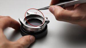 Thay pin đồng hồ Tissot, gioăng cần tháo ra để dưỡng lại