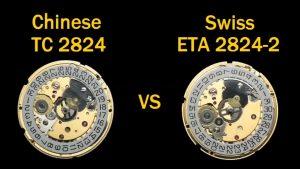 Máy đồng hồ TC 2824 vs Eta 2824-2