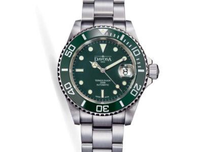 Đồng hồ Davosa 16155570 dòng diver chuẩn Swissmade máy Eta 2824 bền bỉ